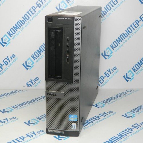 Системный блок Dell Optiplex 390 DT Core i3-2100, 4Gb, 500Gb, noOS бу