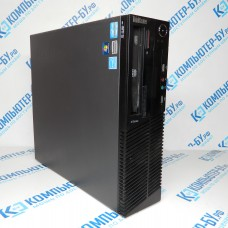 Cистемный блок LENOVO ThinkCentre M81 SFF i3-2100/4096MB/160GB/DVD-RW Win7Pro б/у